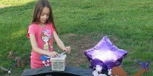 Funeral Butterfly Release