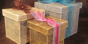 Sinamay Box