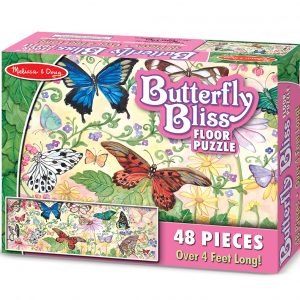 Floor Puzzle Butterfly Bliss 4412