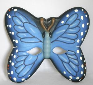 Butterfly Mask - Blue 85388