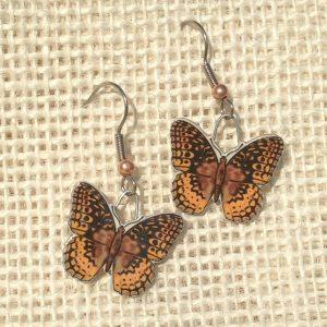 Fritillary Earrings