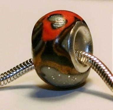 Gulf Fritillary Butterfly Jewelry Bead