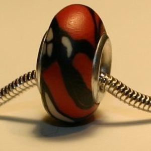 Monarch Butterfly Jewelry Bead