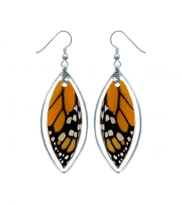 Monarch Butterfly Wing Earrings  Sterling Silver. State Wyoming Emerald. Cut Emeralds Emerald. Square Shaped Emerald. Big Emerald. Neon Emerald. Chromium Emerald. Translucent Emerald. Huge Rectangle Diamond Emerald
