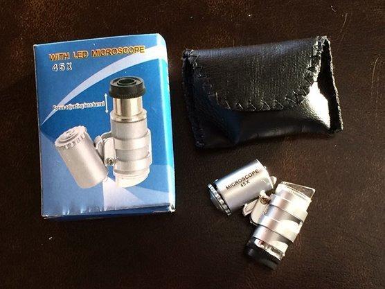 Microscope 45X Illuminated Pocket